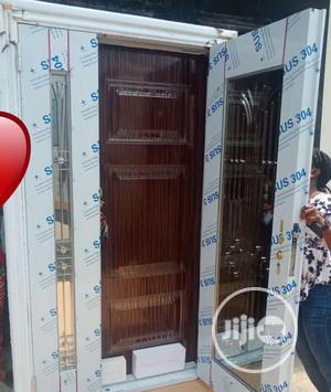 Stainless Glass Door In Door 4ft | Doors for sale in Lagos State, Orile
