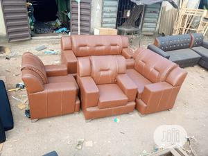 Set Of Sofa Chair. 7 Seaters Leather Couches | Furniture for sale in Lagos State, Ikeja