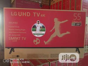 Original LG Uhd 55 Inches LED Smart TV | TV & DVD Equipment for sale in Lagos State, Lagos Island (Eko)