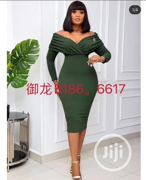 Corporate Off Shoulder Dress   Clothing for sale in Lagos State, Ikeja