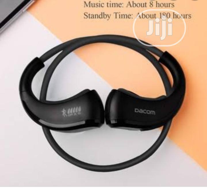Dacom ARMOR Sport Wireless Waterproof Bluetooth Headphone   Headphones for sale in Ikeja, Lagos State, Nigeria