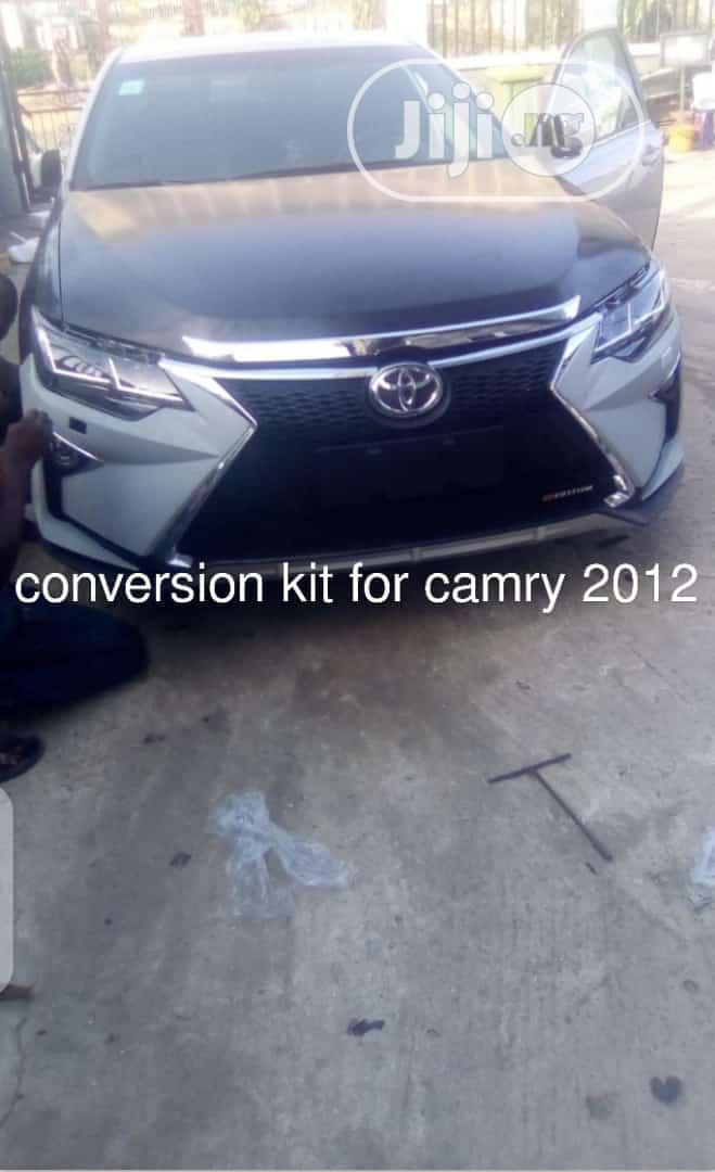 Archive: Upgrade Toyota Camry 2012 to Lexus Face
