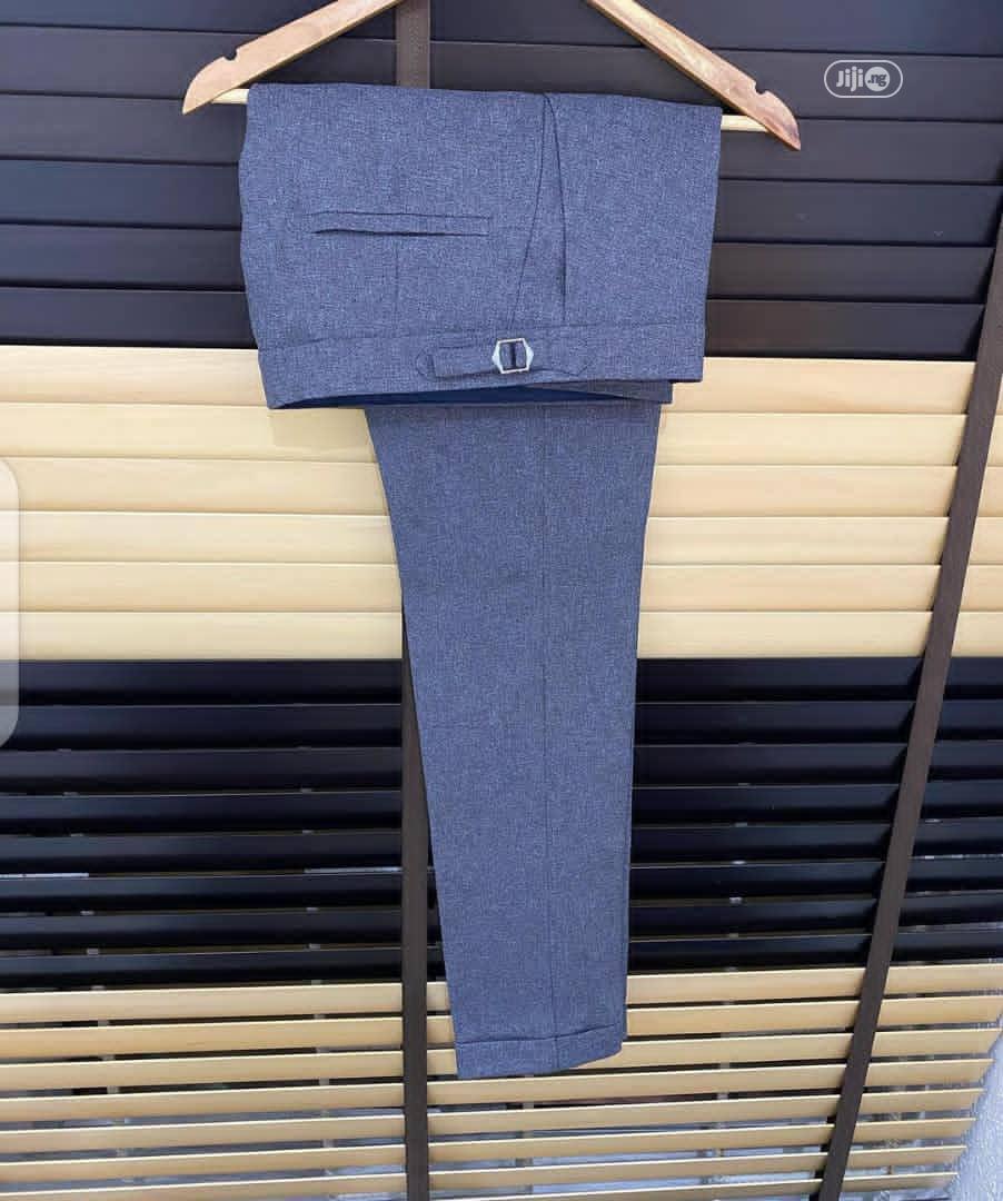Beltless Trouser