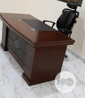 Super Quality Executive Office Table and Chair Available   Furniture for sale in Zamfara State, Anka