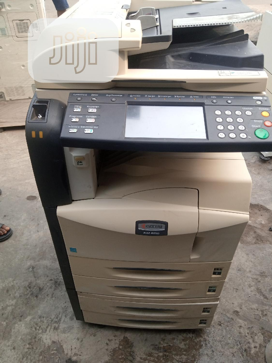 Kyocera Km 4050 Multifunctional Black And White Photocopies | Printers & Scanners for sale in Surulere, Lagos State, Nigeria
