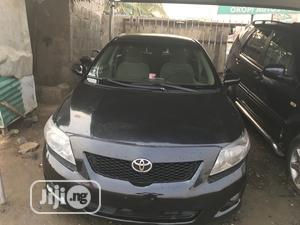 Toyota Corolla 2009 1.4 Advanced Black   Cars for sale in Lagos State, Ojodu