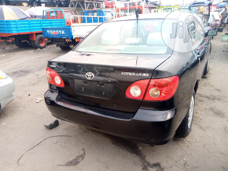 Archive: Toyota Corolla 2007 1.4 VVT-i Black