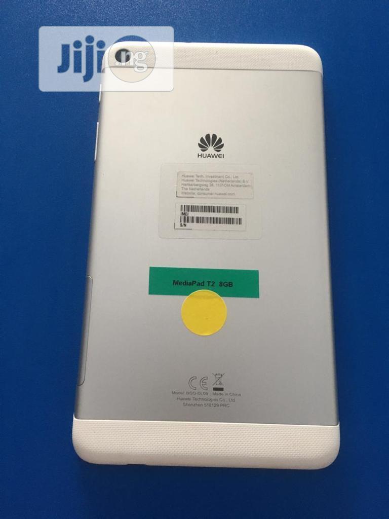 Huawei MediaPad T2 7.0 16 GB White | Tablets for sale in Ikeja, Lagos State, Nigeria