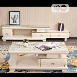 A Set of Tv Stand With Center Table   Furniture for sale in Lagos State, Ojo