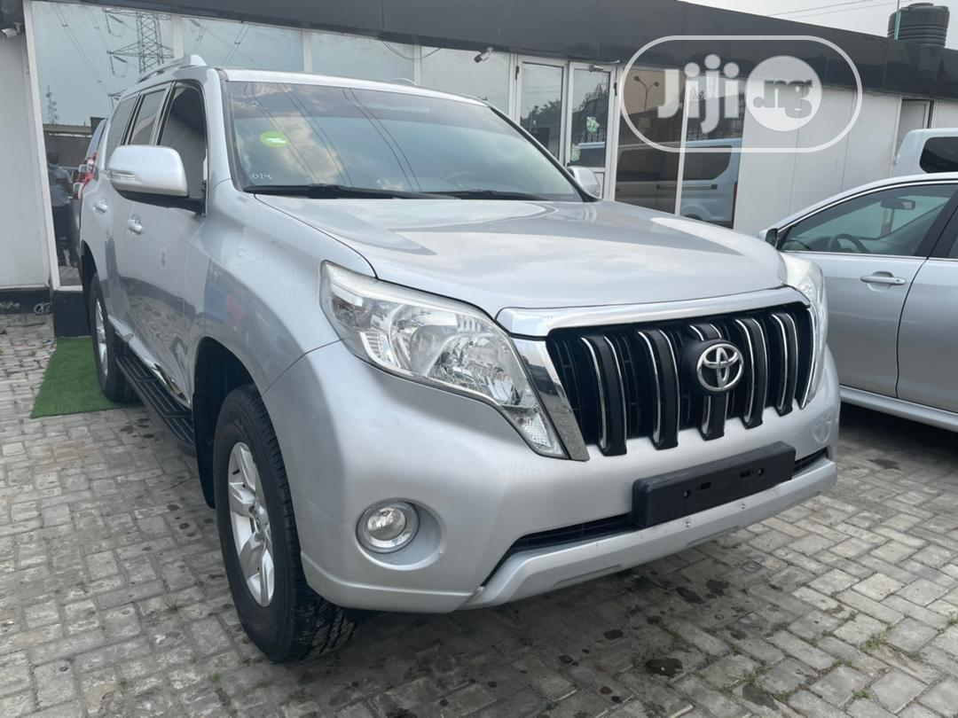 Toyota Land Cruiser Prado 2014 Silver | Cars for sale in Lekki, Lagos State, Nigeria