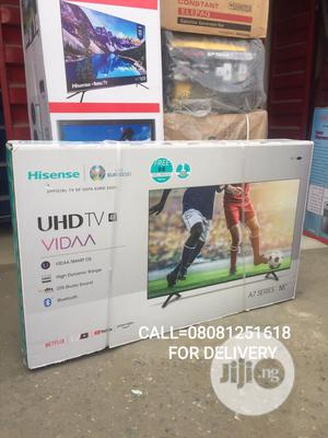 """2021super >Hisense 55""""""""4K ULTRA HD Android Smart Bluetoothtv   TV & DVD Equipment for sale in Lagos State, Surulere"""