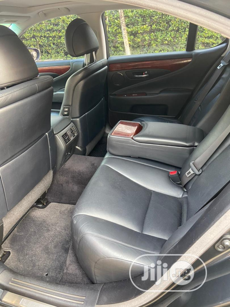 Lexus LS 2008 460 Black | Cars for sale in Isolo, Lagos State, Nigeria