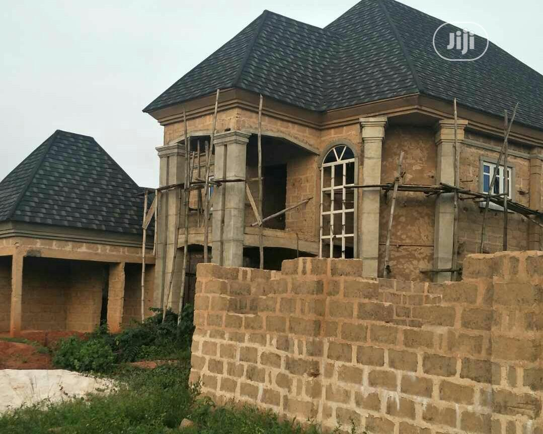 Almost Completed 6 Bedroom Duplex With 2 Living Rooms