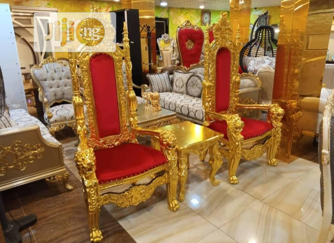 Royal Turkey Kings And Queens Palace Chair Set.