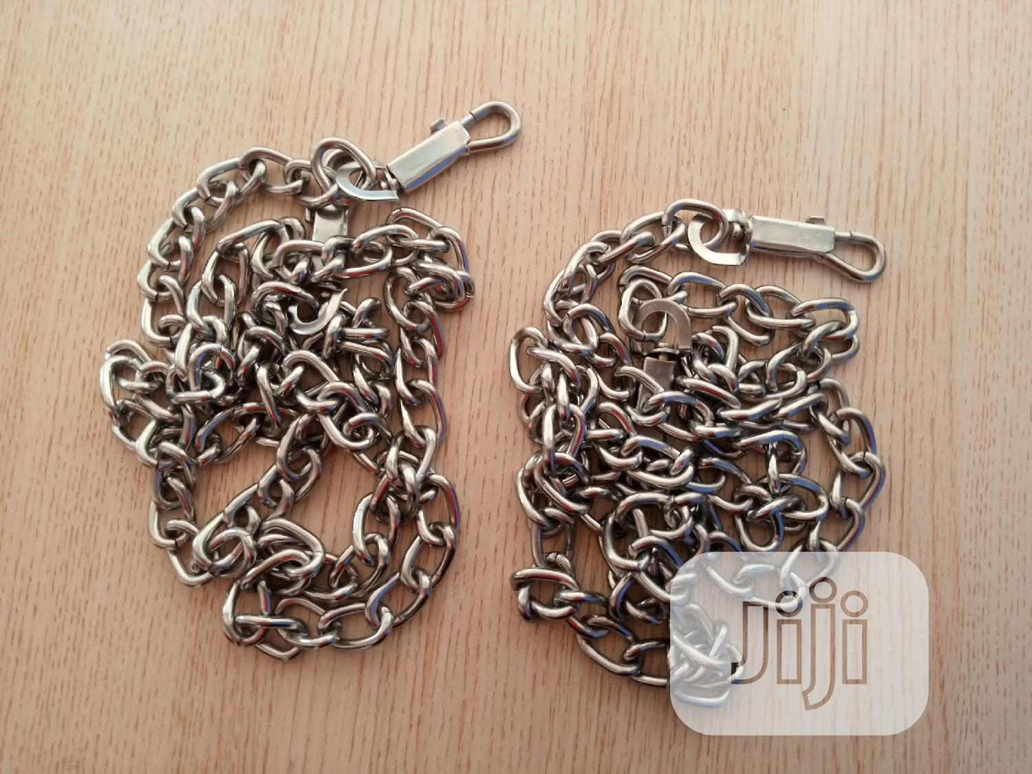 Strong Dog Chain | Pet's Accessories for sale in Kubwa, Abuja (FCT) State, Nigeria