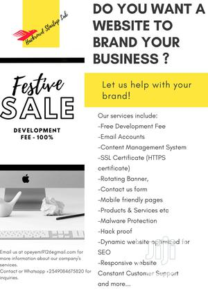 Get Your Website With Free .Com.Ng Domain   Computer & IT Services for sale in Lagos State, Yaba