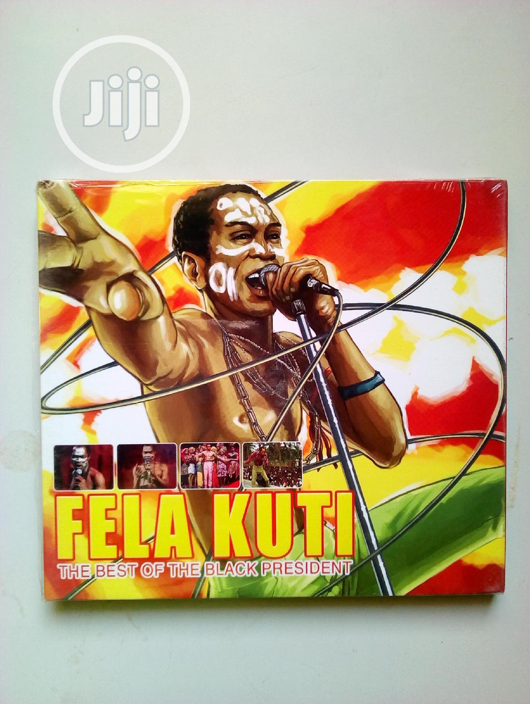 Fela Kuti Best Collections Original Music Cd