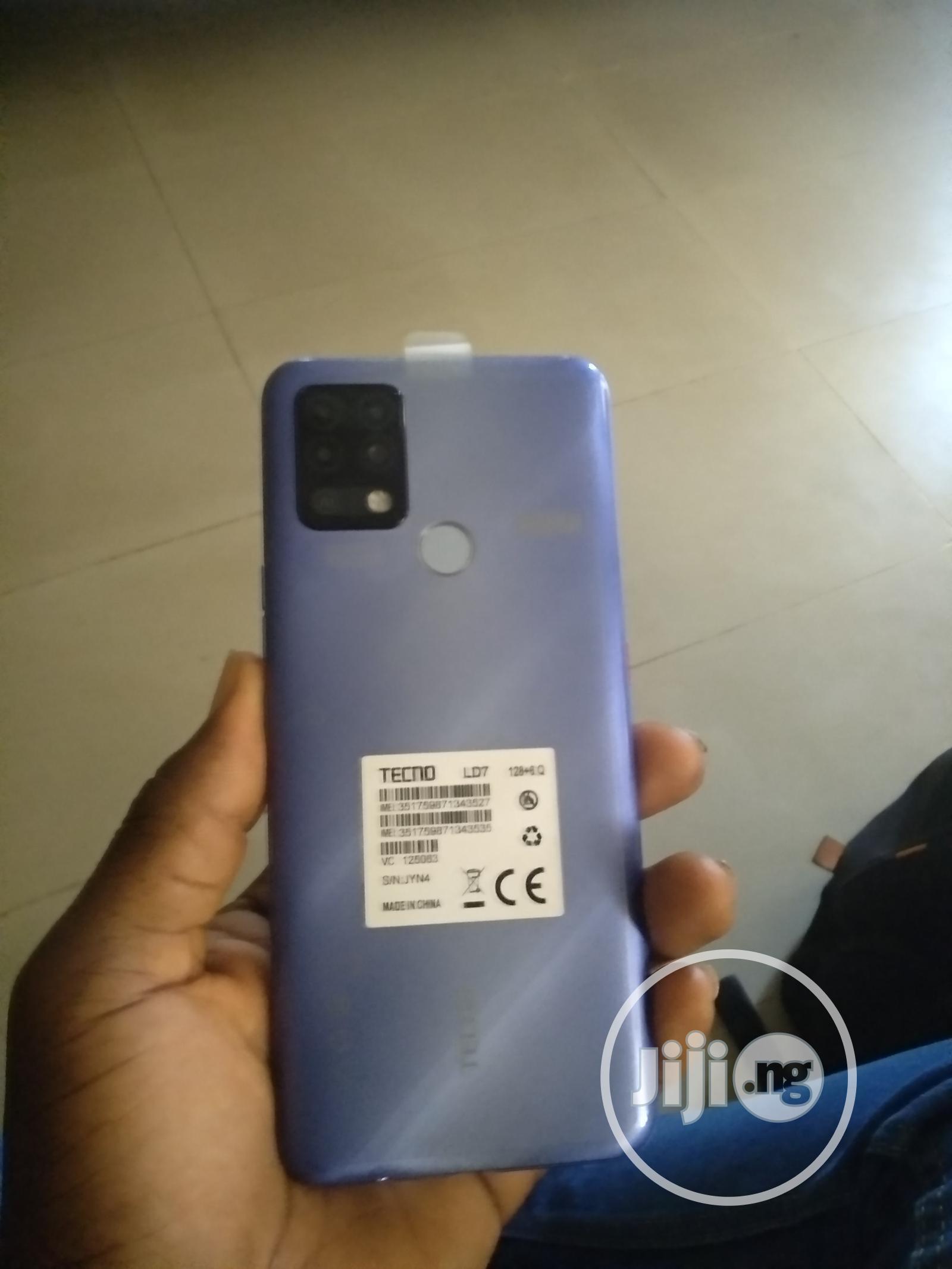 Tecno Pova 128 GB Blue   Mobile Phones for sale in Ikeja, Lagos State, Nigeria