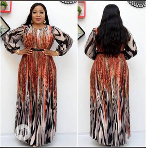 Turkey Long Patterned Dress | Clothing for sale in Lagos State, Ikeja