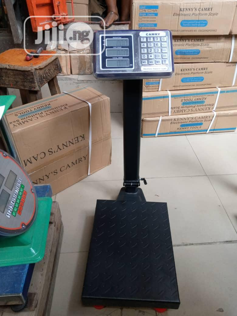 300kg Digital Camry Platform Weighing Scale | Store Equipment for sale in Lagos Island (Eko), Lagos State, Nigeria