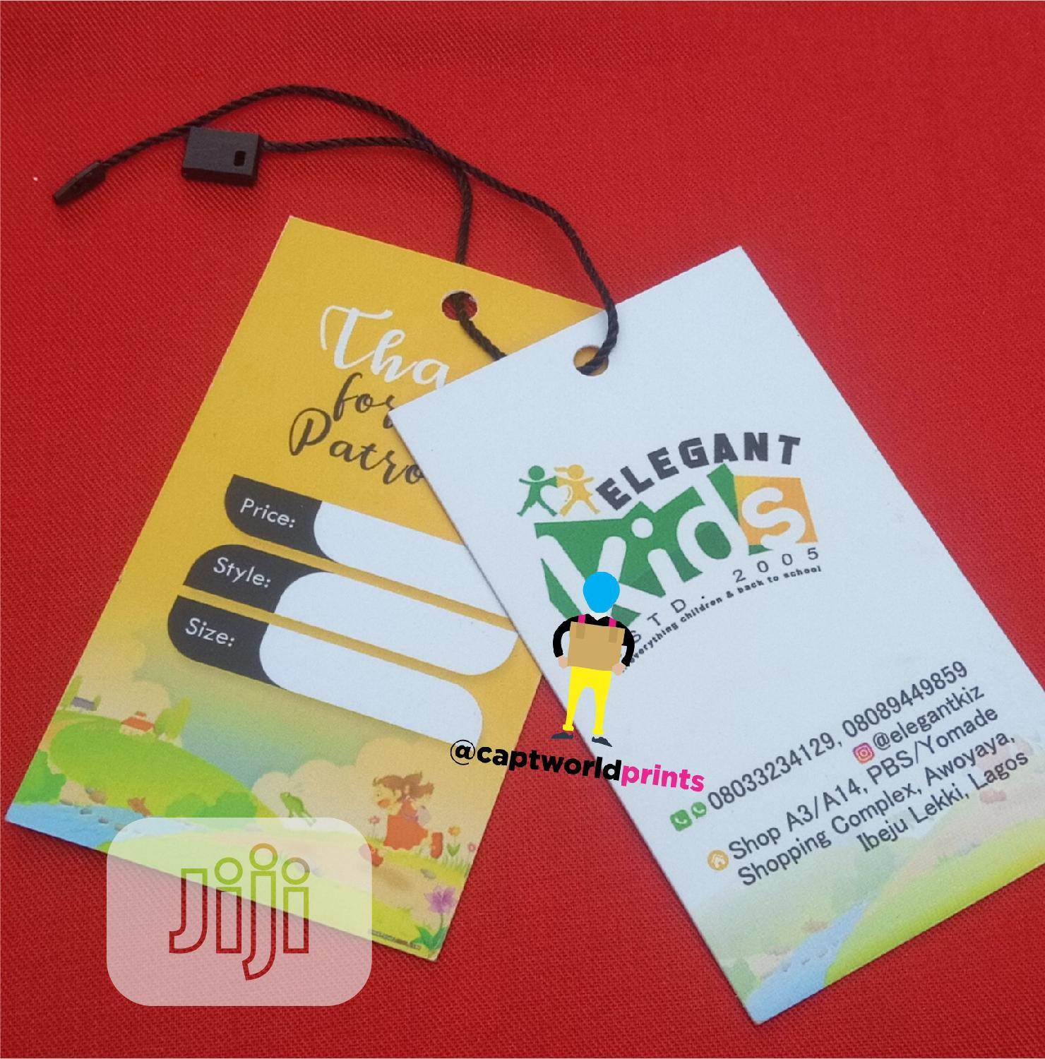 Cloth Tags | Clothing Accessories for sale in Magodo, Lagos State, Nigeria