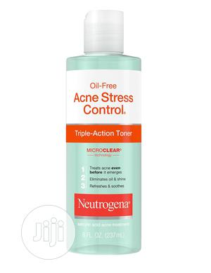 Neutrogena Oil-free Acne Stress Control Triple Action Toner   Skin Care for sale in Lagos State, Ajah