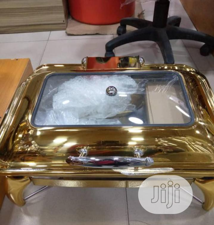 Gold Plated Induction Chafing Dish
