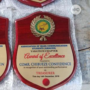 Wooden Award Plaques | Arts & Crafts for sale in Lagos State, Mushin