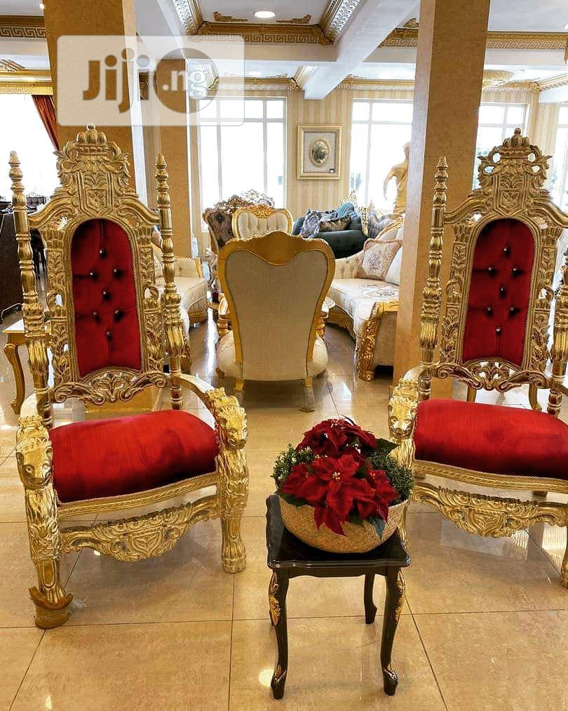 Turkish Royal King And Queen Palace Chair