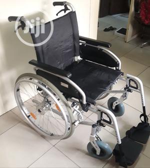 Foldable Wheelchair   Medical Supplies & Equipment for sale in Lagos State, Lagos Island (Eko)