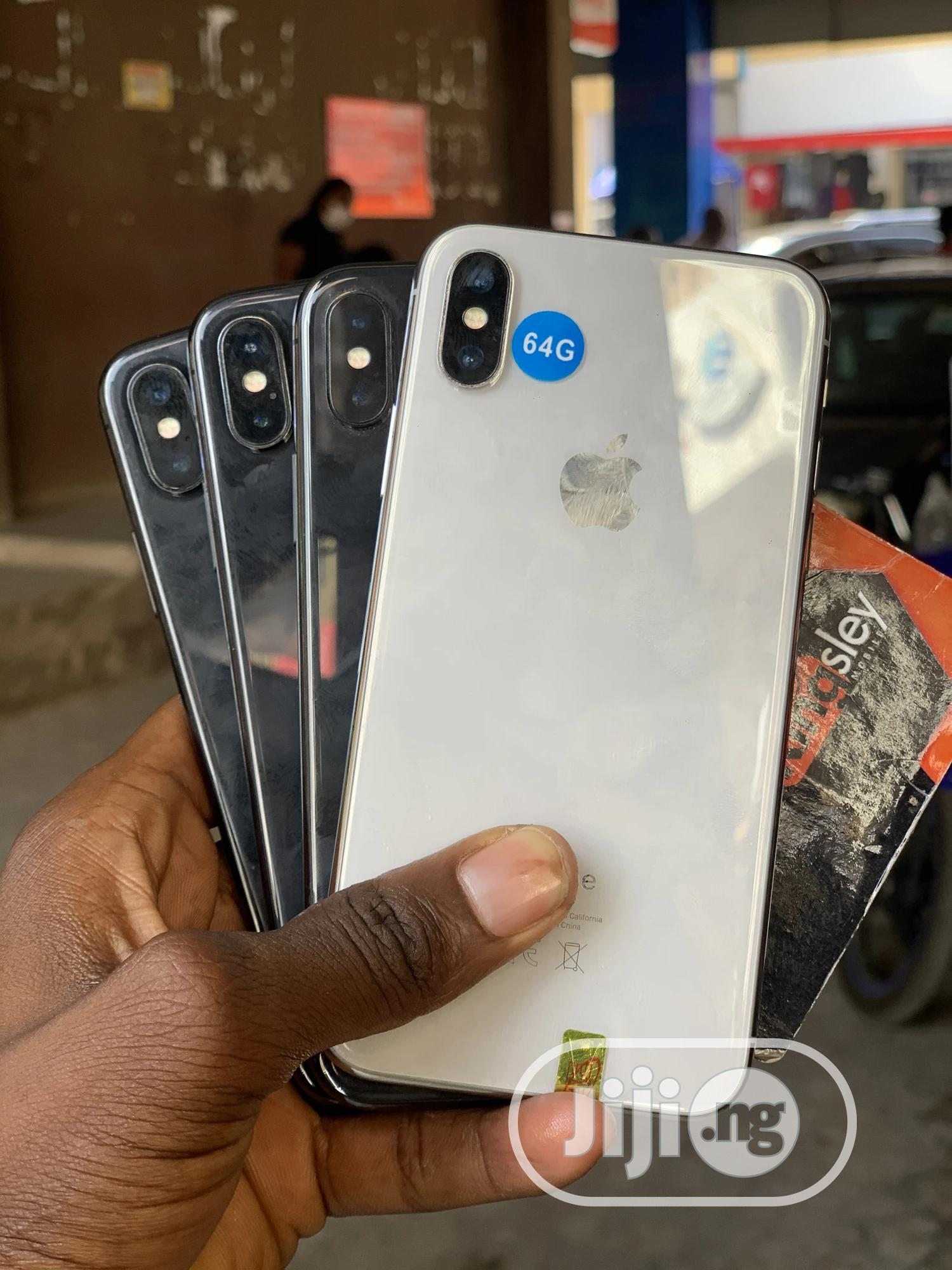 Apple iPhone X 64 GB Black | Mobile Phones for sale in Wuse 2, Abuja (FCT) State, Nigeria