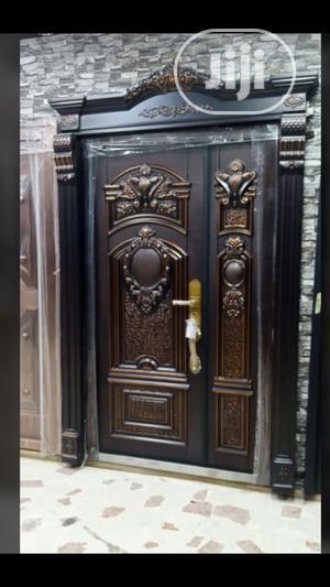 4ft Bulletproof Design Copper   Doors for sale in Lagos State, Apapa
