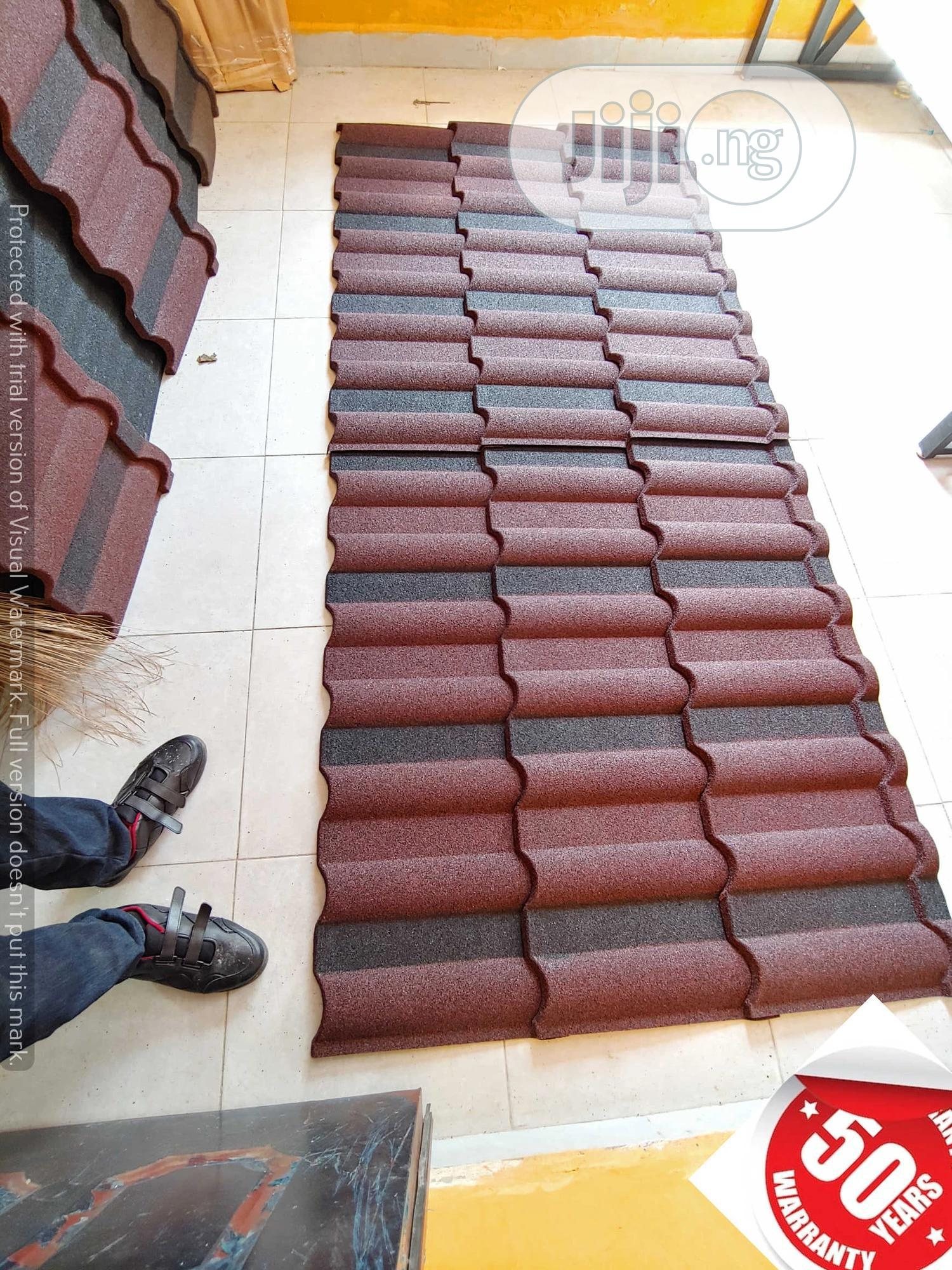 New Zealand High Tech Stone Coated Roofing Tiles Roman