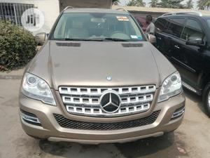 Mercedes-Benz M Class 2010 Gold | Cars for sale in Lagos State, Apapa