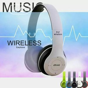 P47 Bluetooth Wireless Headset | Headphones for sale in Lagos State, Ikeja
