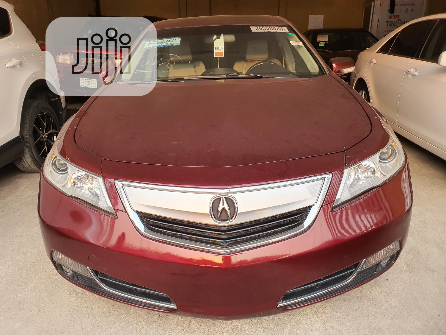 Acura TL 2010 SH-AWD Red