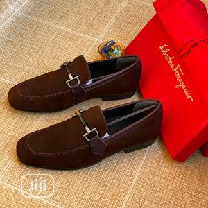Salvatore Ferragamo Suede Loafers Original | Shoes for sale in Lagos State, Surulere