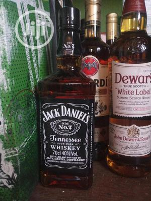 10 Bottles of Jack Daniels America Whiskey 70cl/700ml   Meals & Drinks for sale in Lagos State, Oshodi