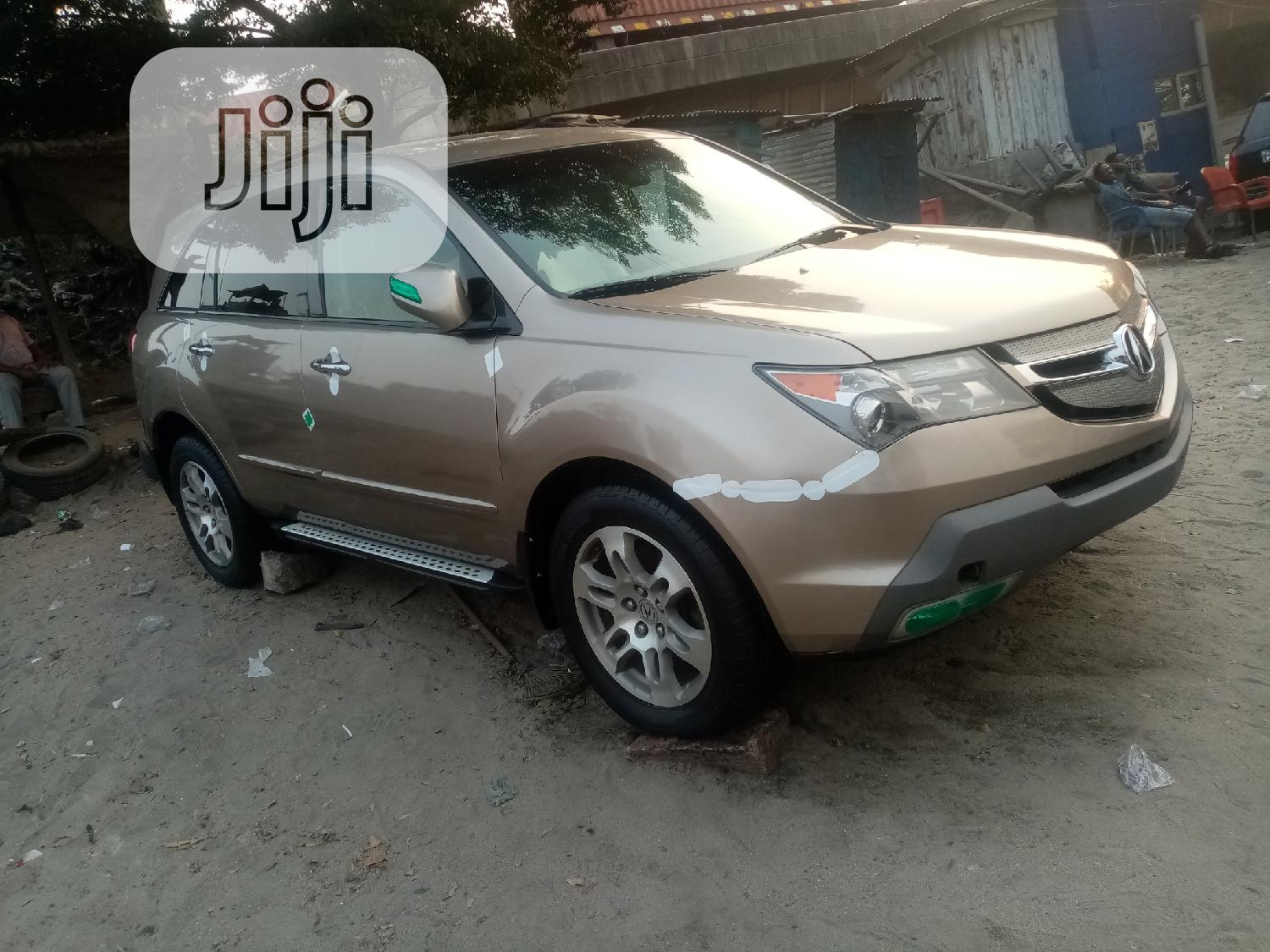 Acura MDX 2008 SUV 4dr AWD (3.7 6cyl 5A) Gold | Cars for sale in Apapa, Lagos State, Nigeria