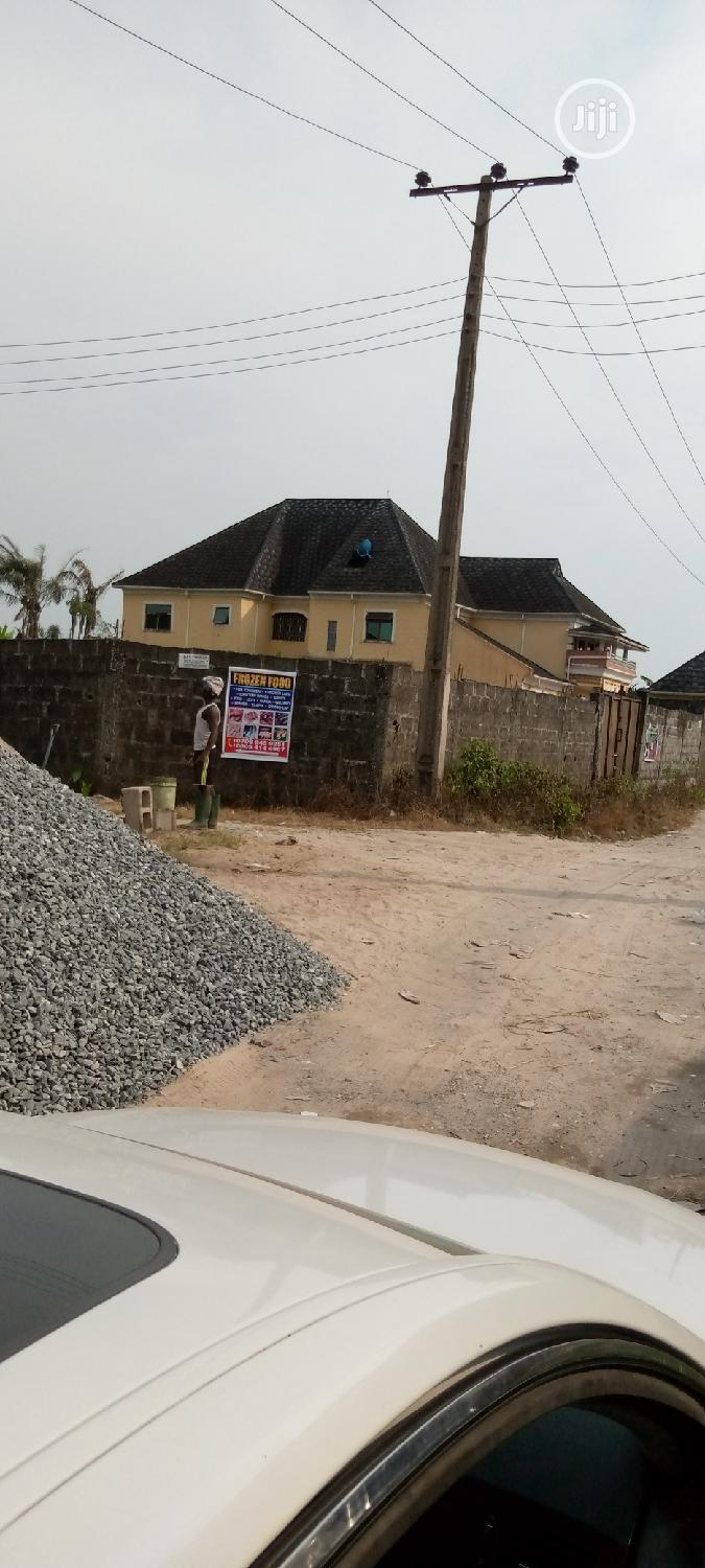 Full, Half Plot for Sale at Abijo Close to Road