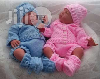Baby Sweater Knitted Cardigan Set Of 2