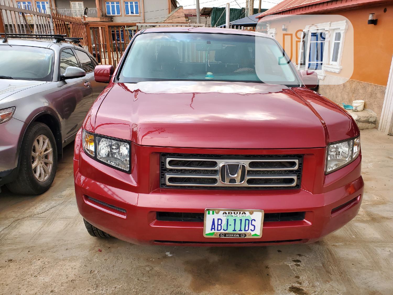 Honda Ridgeline 2006 RTL Red | Cars for sale in Alimosho, Lagos State, Nigeria