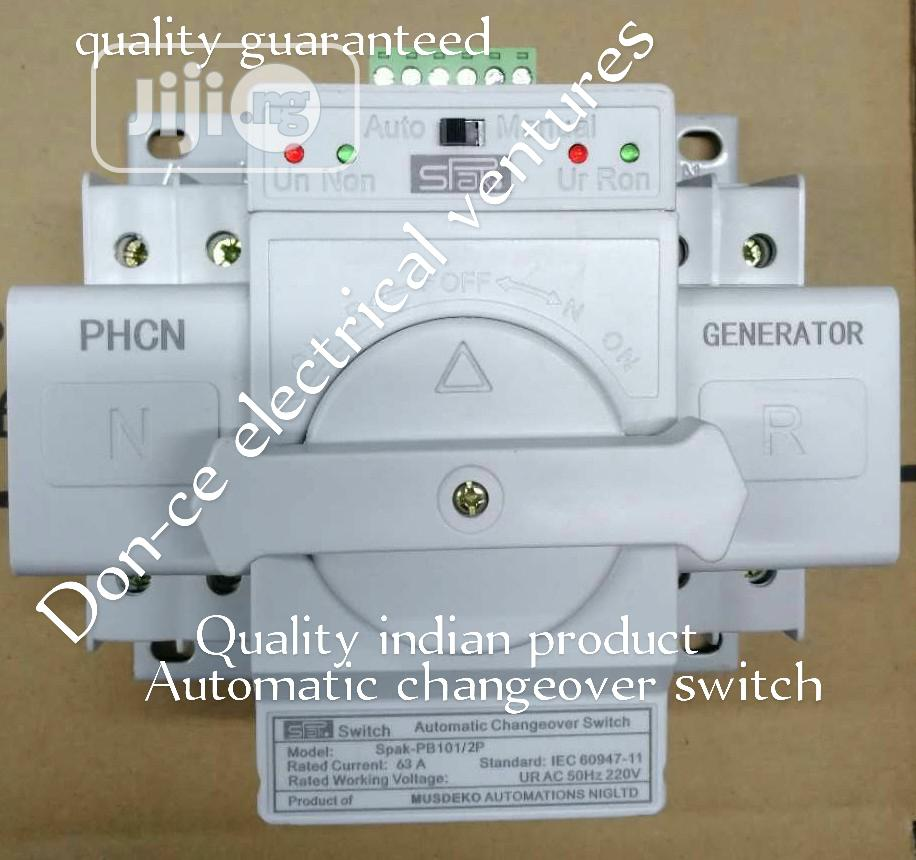 63amps Single Phase Automatic Changeover