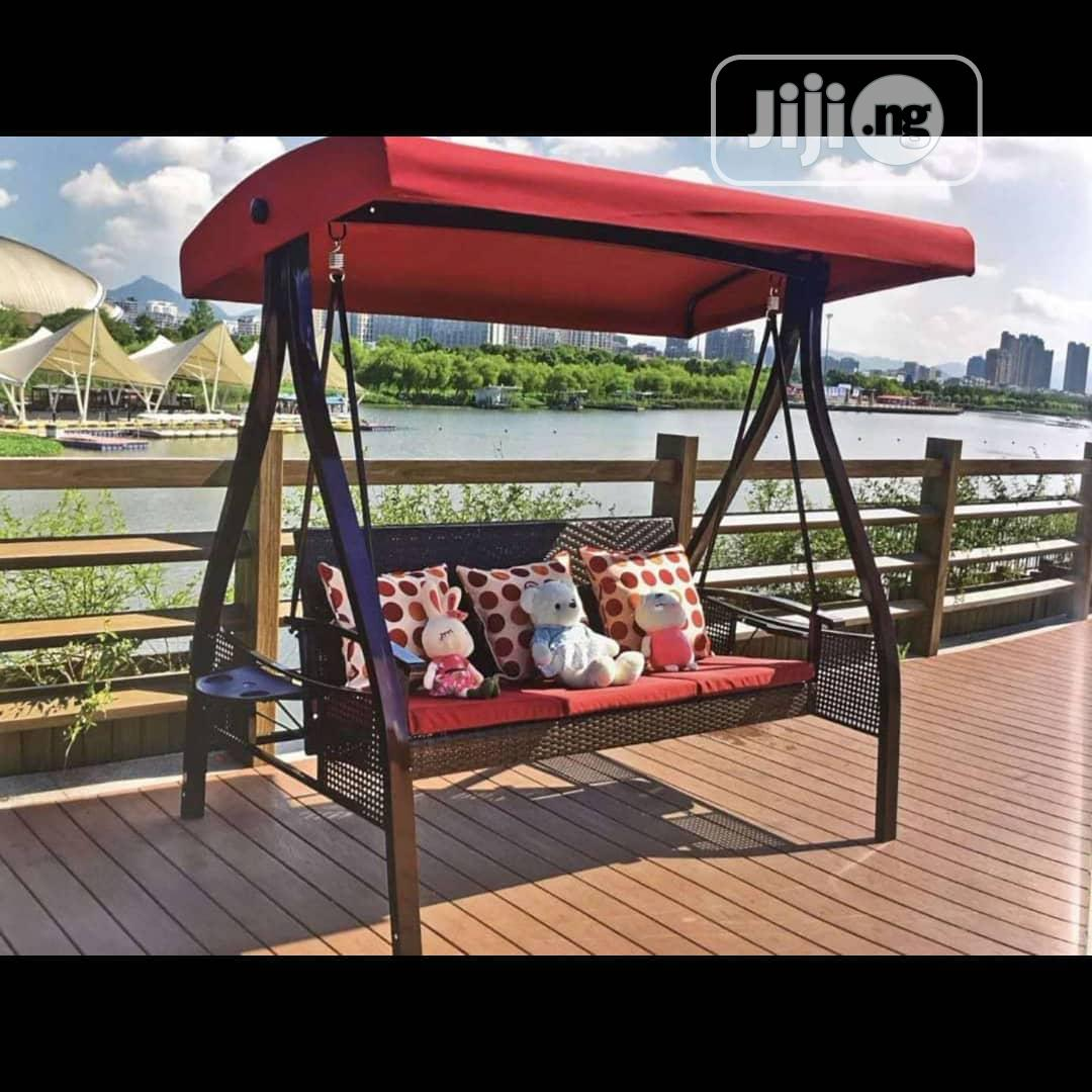 Outdoor Swing 2in1 Swing Chair by 3seaters