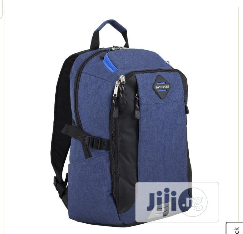 Eastsport Sport Tier Athleisure Backpack,Blue