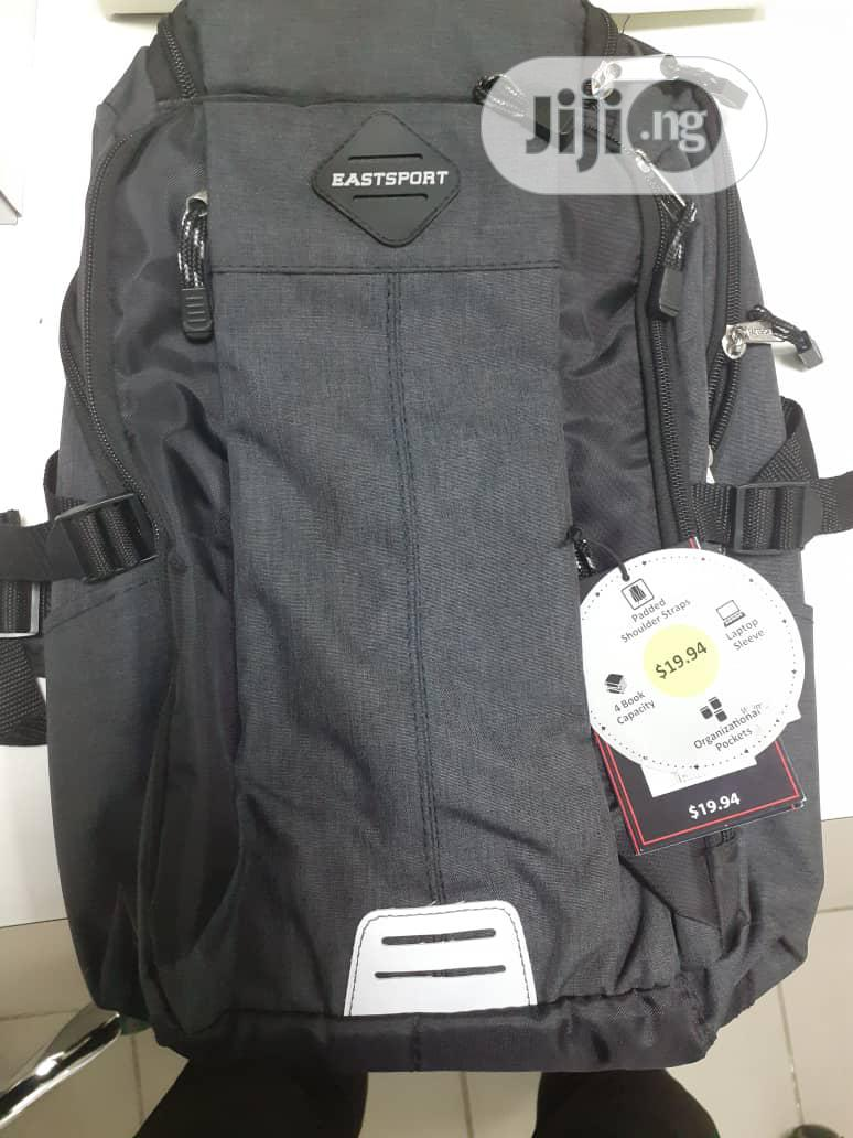 Eastsport Sport Tier Athleisure Backpack,Blue   Bags for sale in Amuwo-Odofin, Lagos State, Nigeria