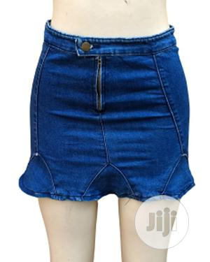 Ladies Mini Denim Skirt   Clothing for sale in Lagos State, Ikeja