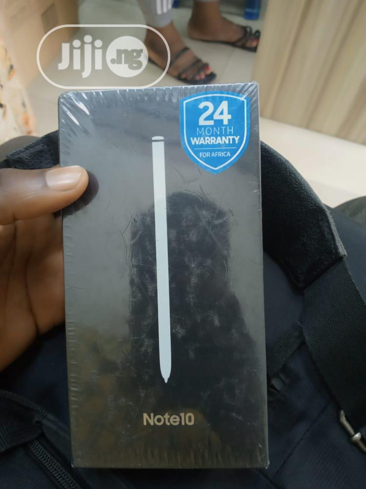 New Samsung Galaxy Note 10 256 GB Black