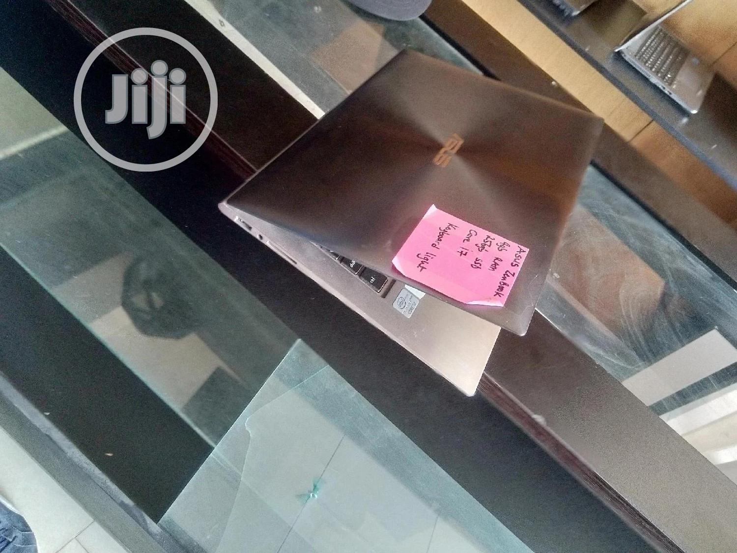 Laptop Asus ZenBook Flip 14 UX461UA 4GB Intel Core I7 SSD 256GB   Laptops & Computers for sale in Central Business District, Abuja (FCT) State, Nigeria