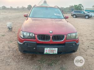 BMW X3 2005 3.0i Red | Cars for sale in Abuja (FCT) State, Kubwa